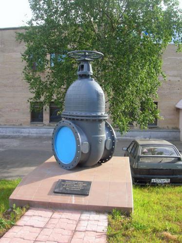 Петрозаводск. Памятник водопроводному крану