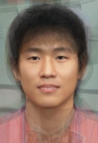 Корейские лица