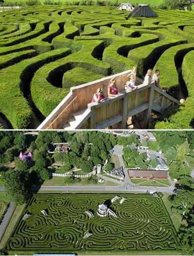 Longleat Hedge Maze (Англия)