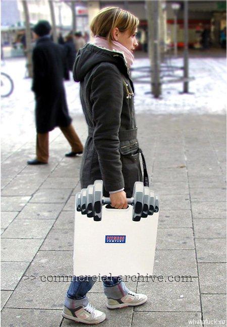 Такие пакеты выдаются посетителям, которые приобретают спортивные аксессуары или пищевые добавки в фитнес-центрах Fitness Company