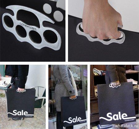 Пакеты с отверстиями для каждого пальца от рекламного агентства Leo Burnett Lisbon