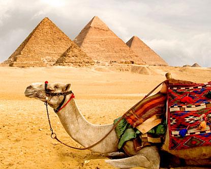 рис.1. Соорганизация в строительстве пирамид