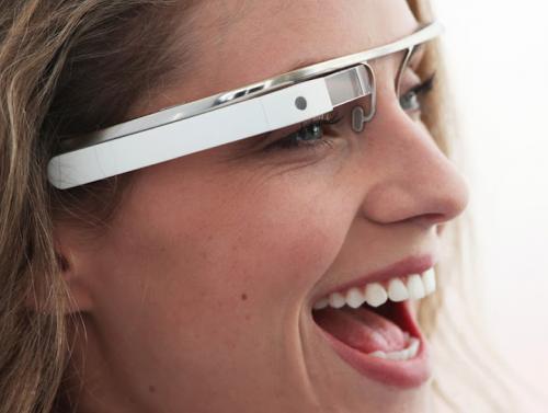 рис.1. Google представил концепт компьютера в очках