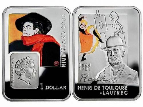 Ниуэ, 2008 год, 1 доллар