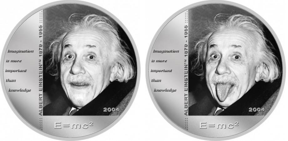 Монета с изменяющимся изображением