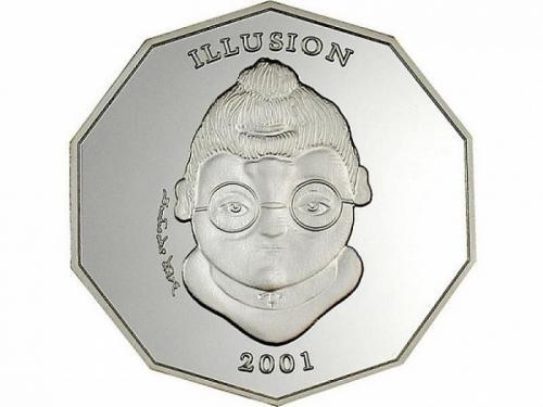 Либерия, 2001 год, 10 долларов