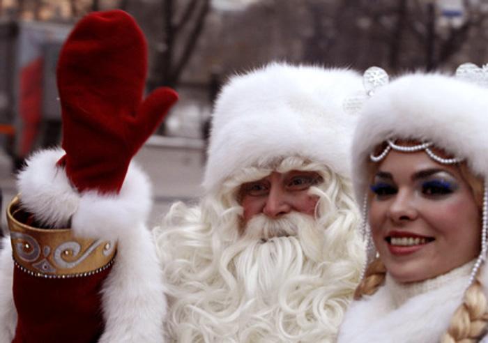 рис.12. Чем отличается Дед Мороз от Санта-Клауса?