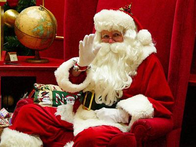 рис.10. Чем отличается Дед Мороз от Санта-Клауса?