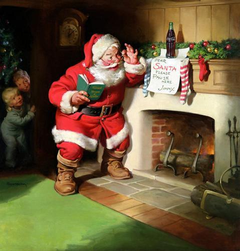 рис.9. Чем отличается Дед Мороз от Санта-Клауса?