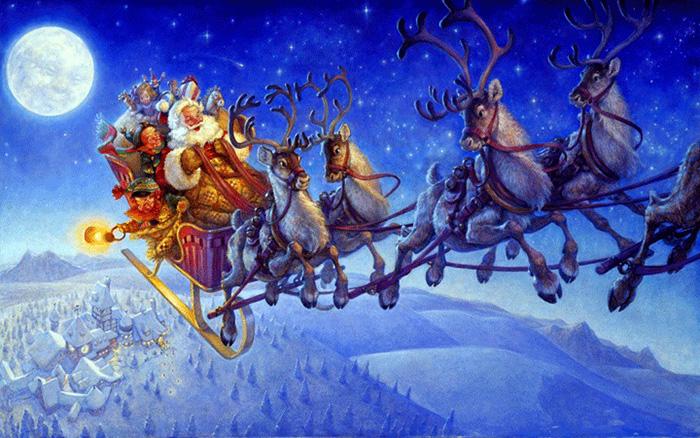 рис.4. Чем отличается Дед Мороз от Санта-Клауса?