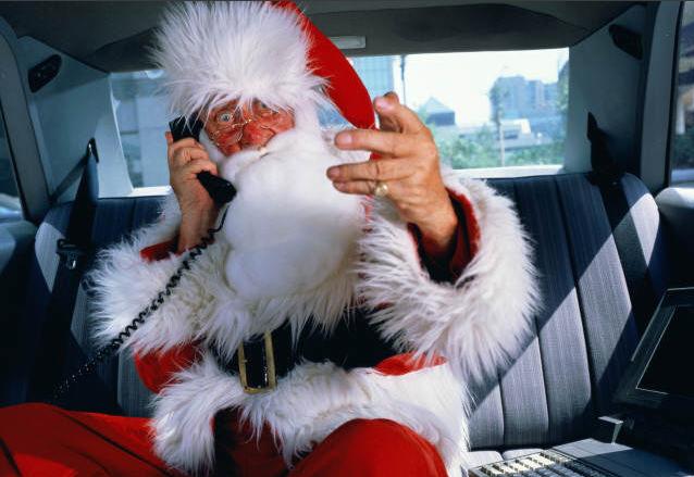 рис.7. Чем отличается Дед Мороз от Санта-Клауса?