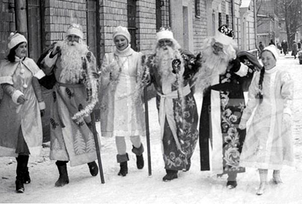 рис.13. Откуда взялся Дед Мороз и его происхождение!