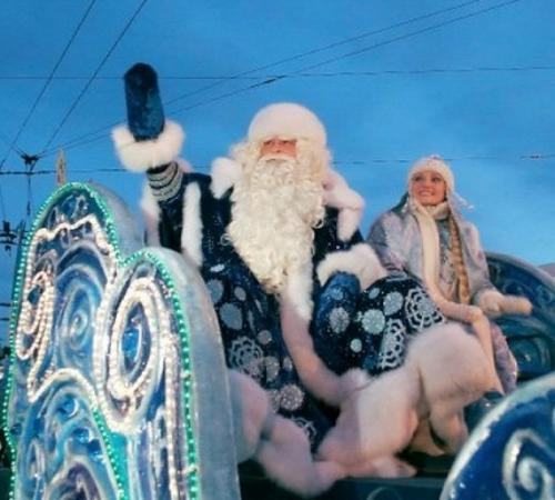Дед Мороз и Снегурочка  VK