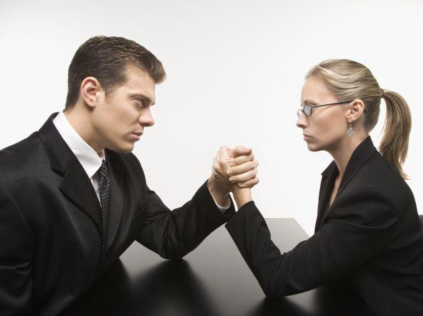рис.1. Различия между женщиной и мужчиной