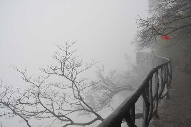 рис.2. Стеклянная тропа страха на горе Тяньмень в Китае