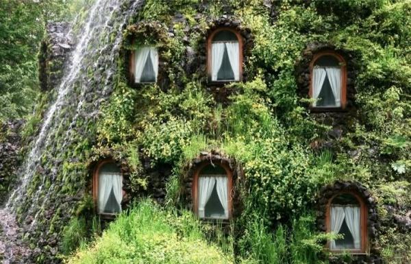 рис.1. Очень необычные отели и рестораны