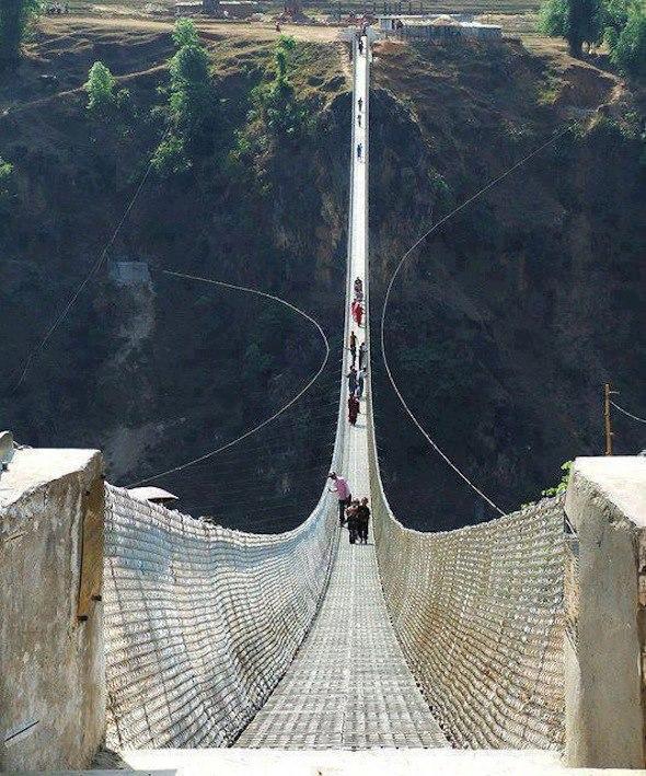Самые необычные и удивительные мосты мира