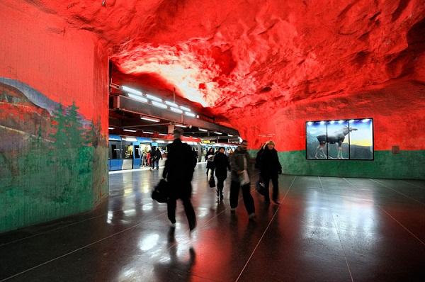 Дизайнерское метро
