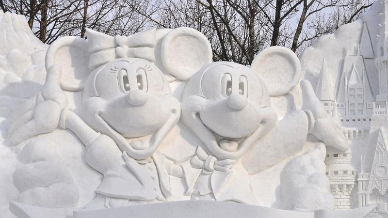 рис.20. Снежный фестиваль в Саппоро в Японии