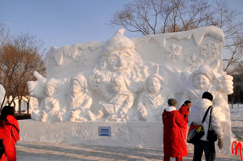 рис.18. Снежный фестиваль в Саппоро в Японии