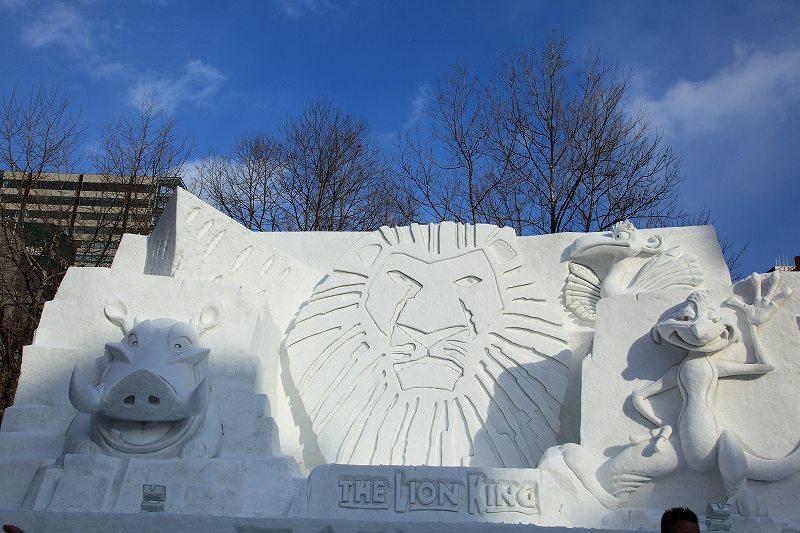 рис.11. Снежный фестиваль в Саппоро в Японии