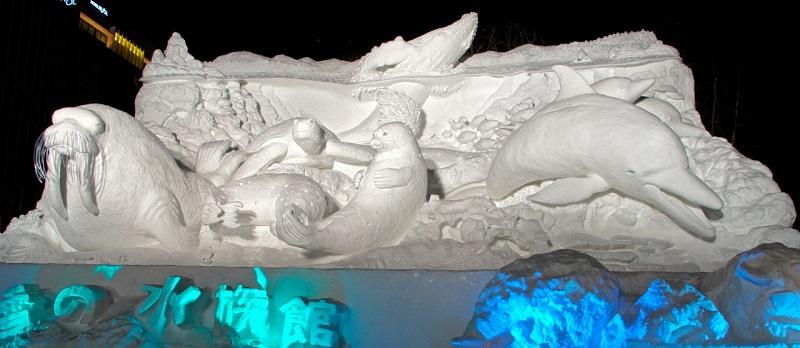рис.6. Снежный фестиваль в Саппоро в Японии