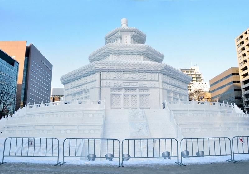 рис.10. Снежный фестиваль в Саппоро в Японии