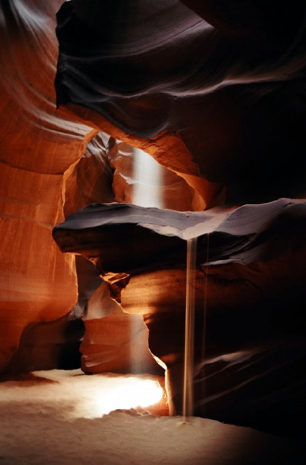 Удивительный и пугающий каньон Антилопы