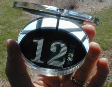 Цифровые солнечные часы: Рис.1