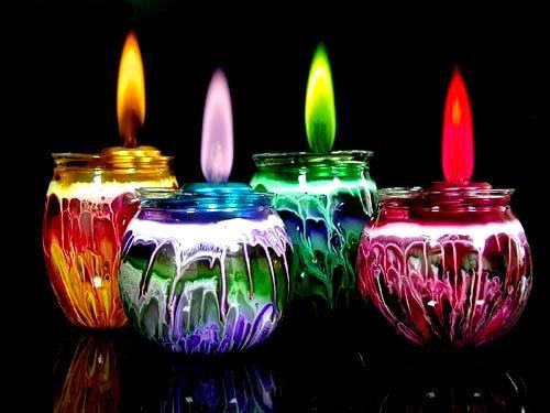 Цветной огонь: Рис.1
