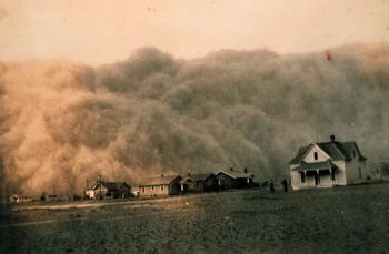 Пыльные бури: Рис.7