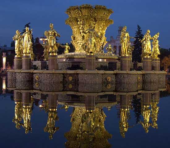 Танцующие фонтаны: Рис.1