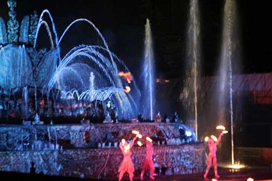 Танцующие фонтаны: Рис.6