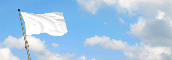 белый флаг перемирия