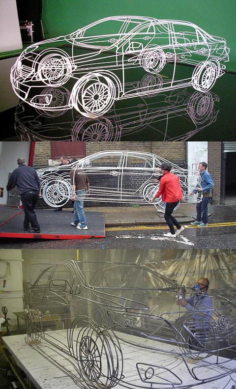 Автомобили из проволоки: Рис.3