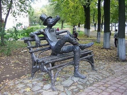 Памятники города Ижевска: Рис.3