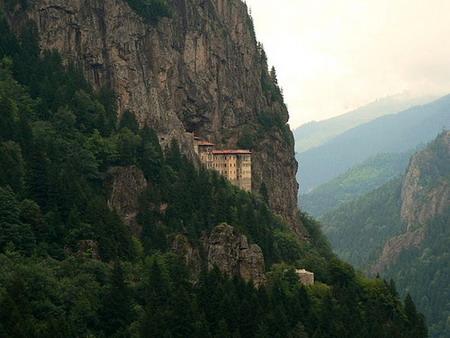 Висячие монастыри: Рис.1