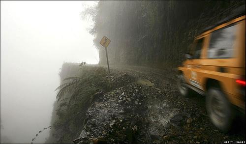 Самые опасные дороги: Рис.1