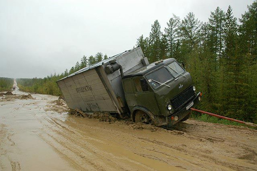 Самые опасные дороги: Рис.17