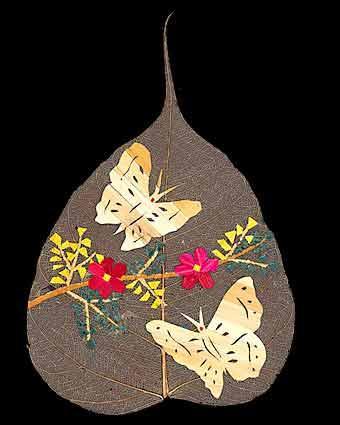 Роспись по листям: Рис.8