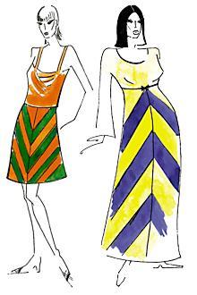 Зрительные иллюзии в одежде: Рис.10