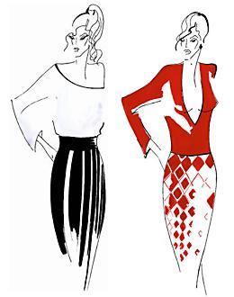 Зрительные иллюзии в одежде: Рис.12
