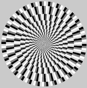 Аномальные иллюзии движения: Рис.8