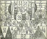 Таблица для проверки наблюдательности из СССР