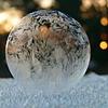 Мыльные пузыри и мороз