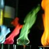 Цветной огонь