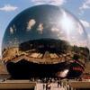 Жеод - зеркальное сооружение в Париже