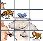 Найди одинаковых животных