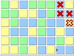 Отметь крестом 4 одинаковых квадрата поиграть бесплатно