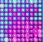 Заполни розовыми цифрами весь экпан поиграть бесплатно